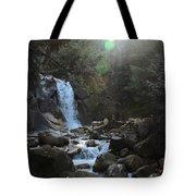 Waters Falling Tote Bag