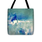 Water's Flow Tote Bag by KR Moehr