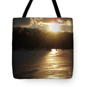 Watershed Sunset Tote Bag