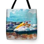 Waterskis  Tote Bag