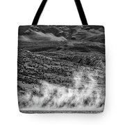 Waterspouts On Viedma Lake - Patagonia Tote Bag
