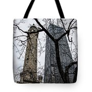 Watertower Chicago Tote Bag