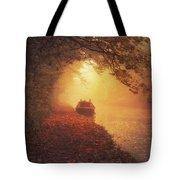 Waterway Sunrise Tote Bag