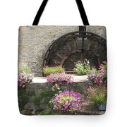 Waterwheel In Bayeux Tote Bag