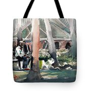 Waterwork Tote Bag