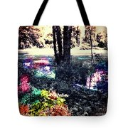 Watery Oasis Tote Bag