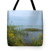 Watery Path Tote Bag