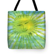 Watery Sunshine Tote Bag