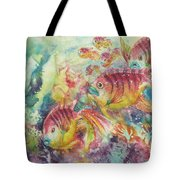 Watery World 2 Tote Bag