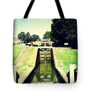 10945 Watford Locks On The Grand Union Canal Tote Bag