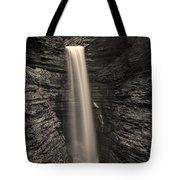 Watkins Glen Cavern Cascade #5 Tote Bag