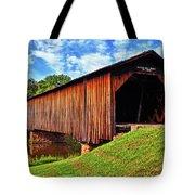 Watson Mill Covered Bridge 040 Tote Bag