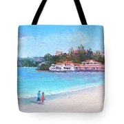 Watsons Bay Sydney Harbour - Doyles On The Beach Restaurant Tote Bag