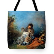 Watteau: False Step, C1717 Tote Bag