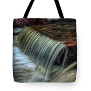 Wausau Whitewater Course Through Granite Tote Bag