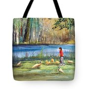 Wautoma Mill Pond Tote Bag