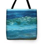 Wave Action Detail Tote Bag