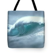 Wave And Spray Tote Bag