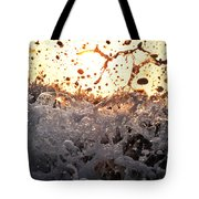 Wave Approaching Tote Bag
