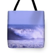 Wave At Jersey Shore Tote Bag