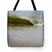 Wave At Sandbridge Virginia Tote Bag