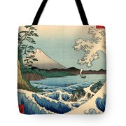 Wave At Satta Point Tote Bag