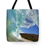 Wave Breaking Tote Bag