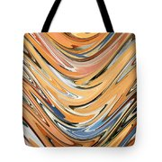 Wave  By Rafi Talby Tote Bag