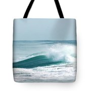 Wave Collision During Hurricane Irene Tote Bag