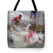 Wave Crasher Tote Bag