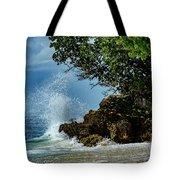 Wave Crashing Punta Cana Tote Bag