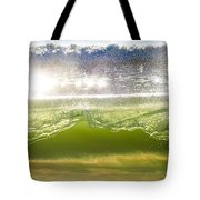 Wave Glass  Tote Bag