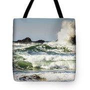 Wave Impact Tote Bag