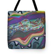 Wave Loop Tote Bag
