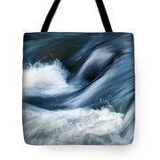 Wave Of The Veil On The River Tote Bag