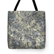 Wave Over Shells  Tote Bag