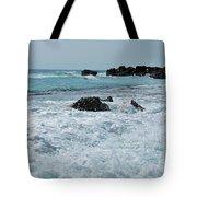 Wave Spray Tote Bag