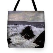 Wave Strike Point Lobos Tote Bag