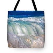 Wave Waterfall, Sunset Beach, Hawai'i Tote Bag