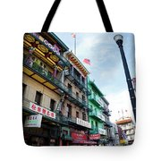 Waverly Place Panorama Tote Bag