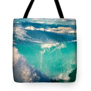 Waves Abound, Sunset Beach, Hawai'i Tote Bag