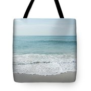 Waves And Assateague Beach Tote Bag
