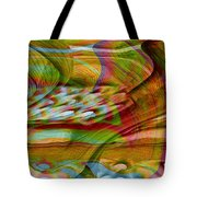 Waves And Patterns Tote Bag