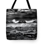 Waves At Dawn Tote Bag