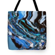 Waves Beginning To Take Flight Tote Bag
