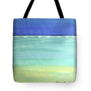 Waves Breaking At Sea Tote Bag