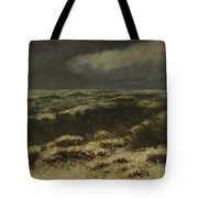 waves by Gustave Courbet Tote Bag