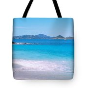 Waves Crashing On The Beach, Turtle Tote Bag
