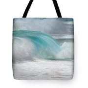 Waves End Tote Bag