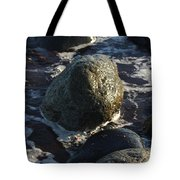 Waves Going Out Tote Bag